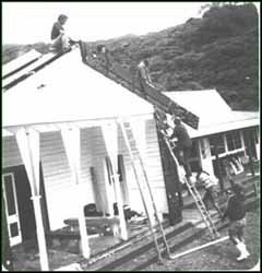 Renovating Te Rawhiti Marae