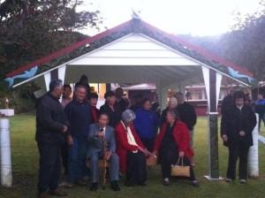 Te Rawhiti Marae Tomohanga Gateway Unveiling